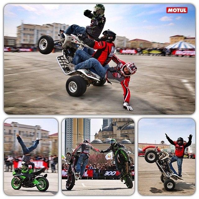 StuntRiding Show at Grozniy