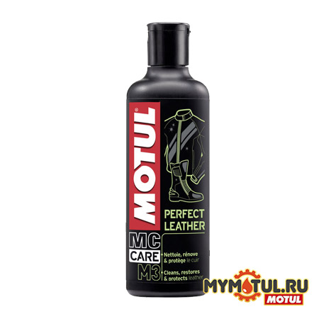 Средство для кожи MOTUL M3 Perfect Leather для автомобилей от mymotul.ru