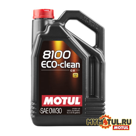 MOTUL 8100 Eco-clean 0W30 от mymotul.ru