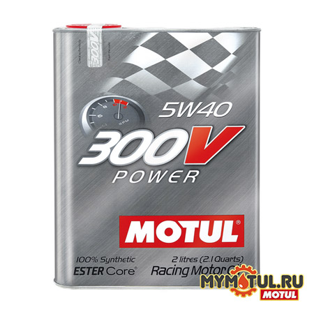MOTUL 300V Power 5W40 от mymotul.ru