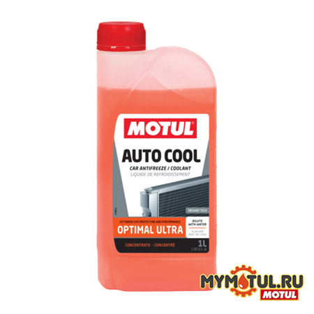 Антифриз MOTUL AUTO COOL OPTIMAL ULTRA