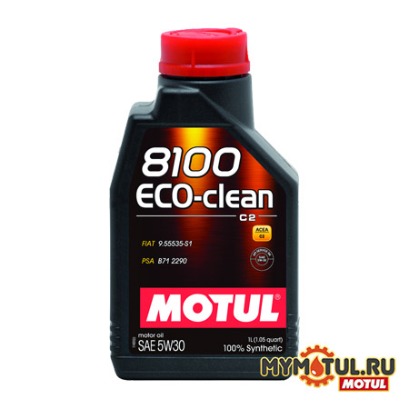 MOTUL 8100 Eco-clean 5W30 от mymotul.ru