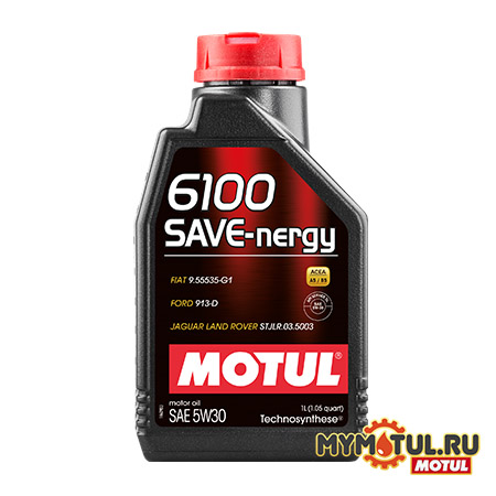 MOTUL 6100 SAVE-Nergy 5W30 от mymotul.ru