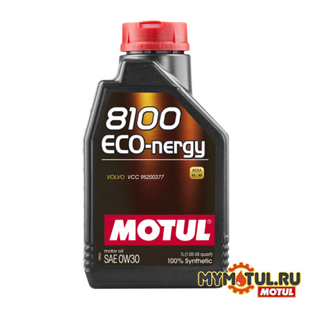 MOTUL 8100 Eco-nergy 0W30 от mymotul.ru