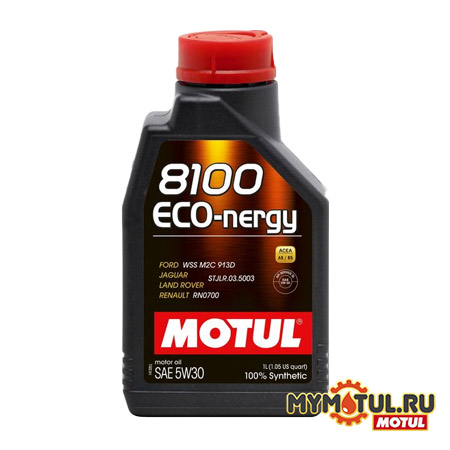 MOTUL 8100 Eco-nergy 5W30 от mymotul.ru