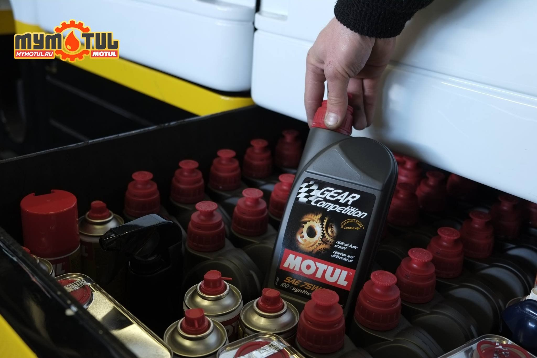 Motul Gear Competiition 75W140